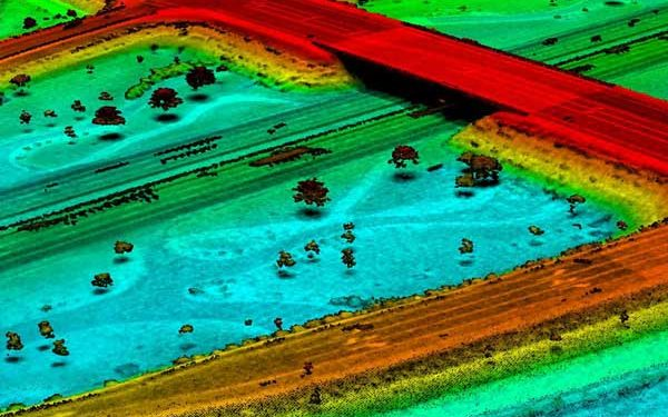 McCord Data Collection Services - Drone LiDAR HWY Intersection
