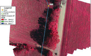 LiDAR Colorized by NDVI