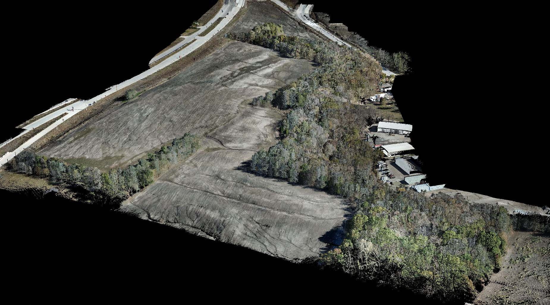 McCord Data Collection Services - Colorized LiDAR from Topographical Survey